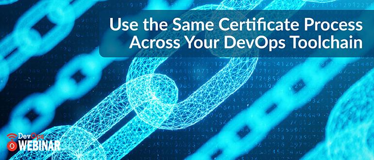 Certificate-Process-DevOps-Toolchain
